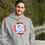 hoodie_gray_on man_on bridge