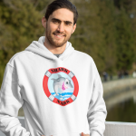 hoodie_white_on man_on bridge