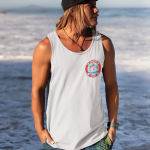Tank_mens_white_breast logo