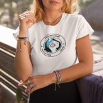 tee-mockup-featuring-a-blonde-young-woman-near-some-palm-trees-26749